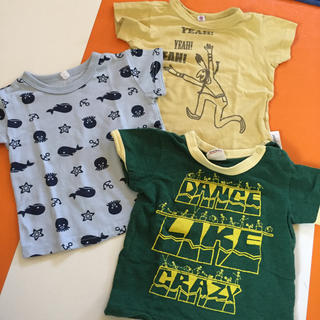 男の子★Tシャツ3枚セット 80(Tシャツ)