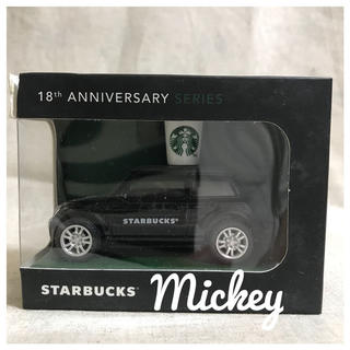 スターバックスコーヒー(Starbucks Coffee)のマレーシア スターバックス 18周年限定 ミニカー(ミニカー)