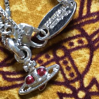 ヴィヴィアンウエストウッド(Vivienne Westwood)のヴィヴィアン ディアマンテ ナノハート ネックレス(ネックレス)