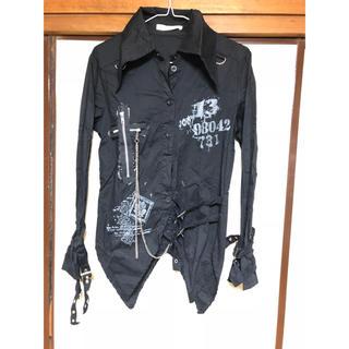 エーシーディーシーラグ(ACDC RAG)のベルト/チェーン付きシャツ(シャツ/ブラウス(長袖/七分))