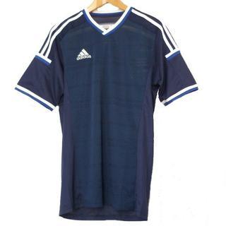 アディダス(adidas)の送料込大きいサイズ新品XO★アディダス紺クライマクールT(Tシャツ/カットソー(半袖/袖なし))