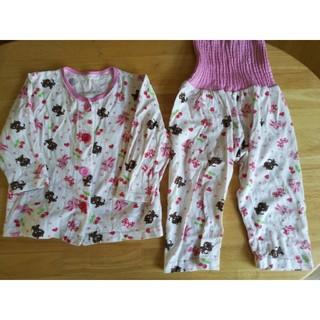 シマムラ(しまむら)のサイズ90 腹巻き付きパジャマセット(パジャマ)