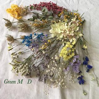 花材詰め合わせD★ミモザドライフラワー  86番(ドライフラワー)