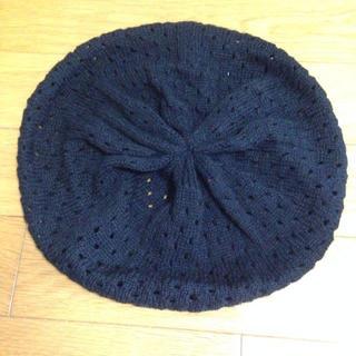 ジーナシス(JEANASIS)のJEANASIS ニットベレー帽(ニット帽/ビーニー)