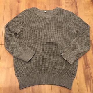 ムジルシリョウヒン(MUJI (無印良品))の無印良品 かのこ編み ワッフル編み オーガニックコットンニット サマーセーター(ニット/セーター)