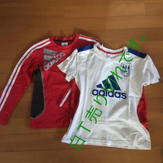 アディダス(adidas)の赤のみ、アディダス130(Tシャツ/カットソー)