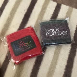バックナンバー(BACK NUMBER)のbacknumber リストバンド シール(ポップス/ロック(邦楽))