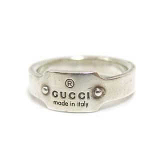 グッチ(Gucci)のGUCCI シルバーリング シルバー グッチ(リング(指輪))