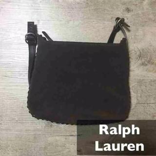 ラルフローレン(Ralph Lauren)のラルフローレン*スエードレザーバッグ レザーポーチ(その他)