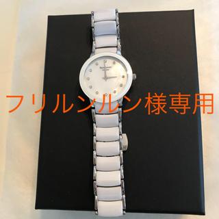ピエールラニエ(Pierre Lannier)のピエールラニエ美品☆ストーン/ホワイト/セラミック☆(腕時計)