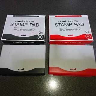 ミツビシエンピツ(三菱鉛筆)のuni:STAMP PAD 黒(印鑑/スタンプ/朱肉)
