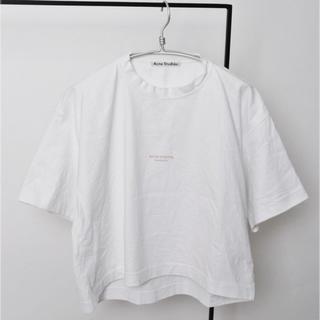 アクネ(ACNE)のAcne 2018SS Tシャツ ホワイト(Tシャツ/カットソー(半袖/袖なし))