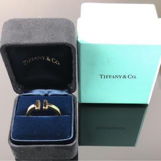 ティファニー(Tiffany & Co.)の確実正規品Tiffanyスクエアリング(リング(指輪))