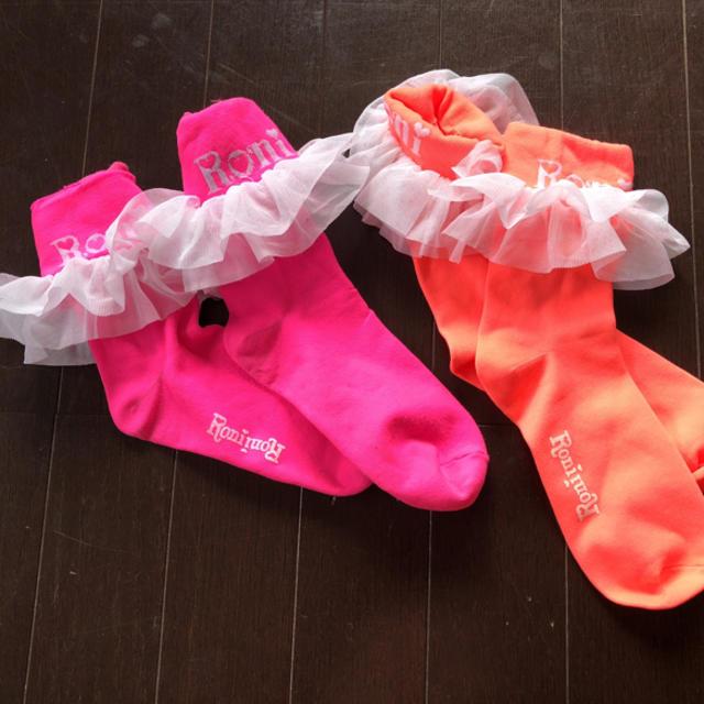 RONI(ロニィ)のりーねえ様専用☺︎RONI 靴下   キッズ/ベビー/マタニティのこども用ファッション小物(靴下/タイツ)の商品写真