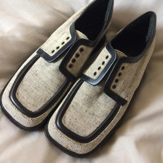 プラダ(PRADA)のPRADAシューズ 22-23cm(ローファー/革靴)