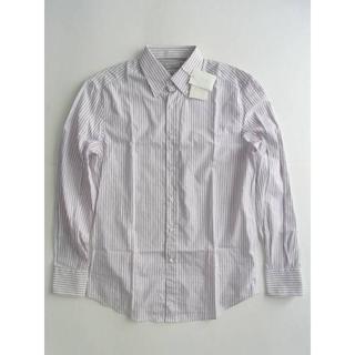 ブルネロクチネリ(BRUNELLO CUCINELLI)のブルネロクチネリ ボタンダウンシャツ ストライプ S メンズ(シャツ)