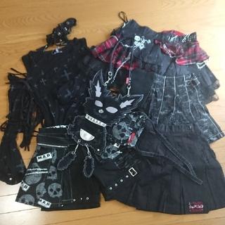 マッドティーパーティ((A) MAD T PARTY)のV系衣装6着+小物(衣装)