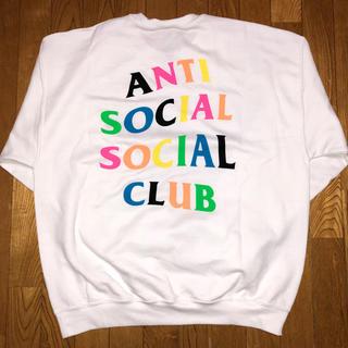 シュプリーム(Supreme)のANTI SOCIAL SOCIAL CLUB RAINBOW CREWNECK(スウェット)