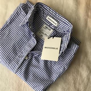 マディソンブルー(MADISONBLUE)の新品 マディソンブルー*ストライプシャツ(シャツ/ブラウス(長袖/七分))