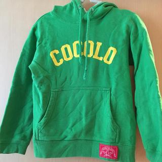 ココロブランド(COCOLOBLAND)のcocolo blandキッズトレーナー(Tシャツ/カットソー)
