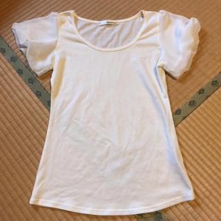 ミスティウーマン(mysty woman)のパフスリーブ Tシャツ ミスティウーマン(Tシャツ(半袖/袖なし))