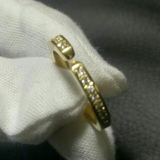 スタージュエリー(STAR JEWELRY)の定価20万↑ Sjx K18 ダイヤモンド リング 指輪 18K アイファニー(リング(指輪))