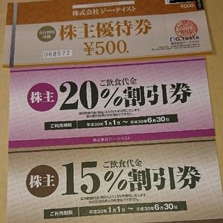 k様専用 ジーテイスト株主優待券(その他)