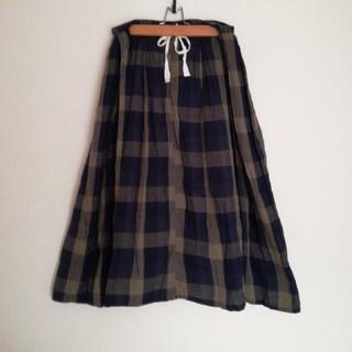 ソルベリー(Solberry)の【おすみ様】soulberry チェックロングスカート(ロングスカート)