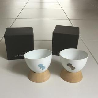 ミナペルホネン(mina perhonen)のミナペルホネン mina perhonen choucho 湯のみ 2個セット (グラス/カップ)
