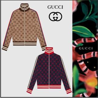 グッチ(Gucci)のgucci ggジャガードジャージージャケット(ジャージ)