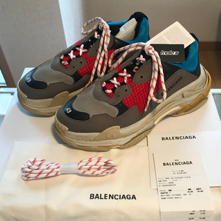 バレンシアガ(Balenciaga)のけんけん様専用BALENCIAGA TripleS 43 バレンシアガトリプルS(スニーカー)