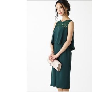 6413e9070d025 エメ(AIMER)のAimer Acret エメ 新品タグ付き レース切り替えドレス ワンピース(