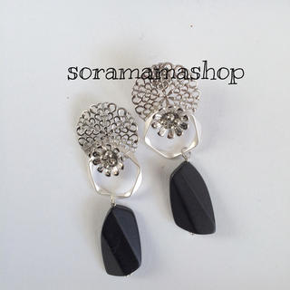 No70silver earrings ピアスORイヤリング(ピアス)