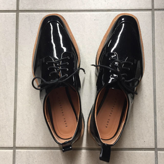 ザラ(ZARA)のkana-p3pさま♡ZARA 36 AMPHI ブラトップ(ローファー/革靴)