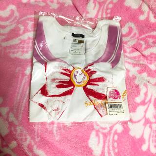 バンダイ(BANDAI)の【新品未使用】セーラーちびムーン なりきりTシャツ(Tシャツ(半袖/袖なし))