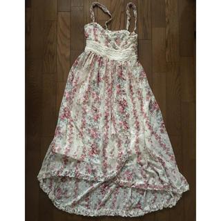 リズリサ(LIZ LISA)のLIZ LISA花柄ロングスカート(ロングスカート)