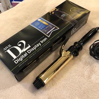 AIVIL D2 ヘアアイロン ゴールド 38mm(ヘアアイロン)