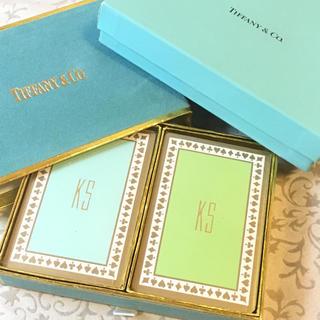 ティファニー(Tiffany & Co.)の未使用⭐️Tiffany&Co. イニシャル入り トランプ 2セット(トランプ/UNO)