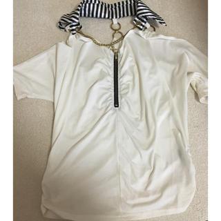 アビラピンク(AVIRA PINK)の肩出しトップス(カットソー(半袖/袖なし))