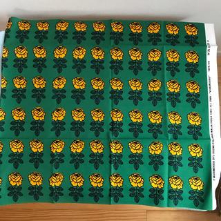 マリメッコ(marimekko)の限定 ヴィヒキルース 145×60cm(生地/糸)
