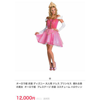 ディズニー(Disney)のオーロラ姫♡Disney公式♡コスチューム(衣装一式)