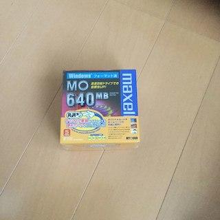 マクセル(maxell)の新品・未使用❗️マクセル MOディスク 640MB 5本セット(その他)