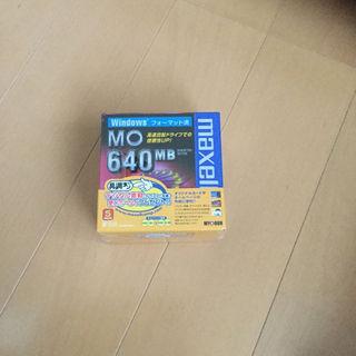 マクセル(maxell)の新品・未使用❗️マクセル MOディスク 640MB 5本セット(PC周辺機器)