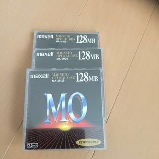 マクセル(maxell)の新品・未使用❗️マクセル MOディスク 128MB 3本セット(PC周辺機器)