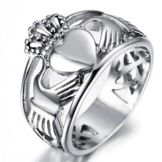 愛、友情、幸せの象徴 特別な指輪 クラダリング( 14号) 男女兼用モデル(リング(指輪))