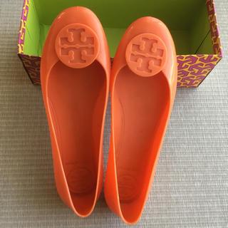 トリーバーチ(Tory Burch)のトリーバーチ レインシューズ オレンジ(レインブーツ/長靴)