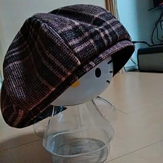 イーハイフンワールドギャラリー(E hyphen world gallery)の値下げ‼️新品E hyphen world gallery PEACEのベレー帽(ハンチング/ベレー帽)