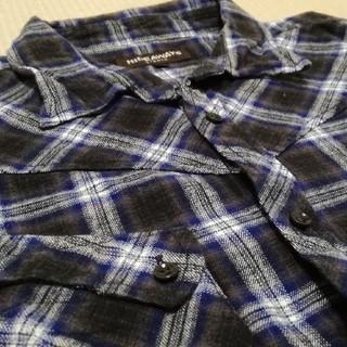 ハイダウェイ(HIDEAWAY)の値下げ✨美品✨ハイダウェイニコル チェックシャツ 長袖(シャツ)
