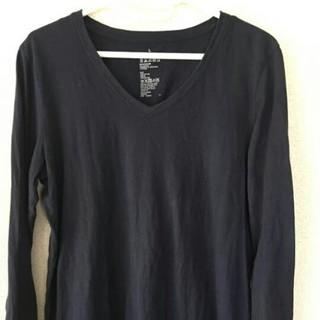 ムジルシリョウヒン(MUJI (無印良品))のお値下げしました。無印良品 Vネック Tシャツ カットソー(Tシャツ(長袖/七分))