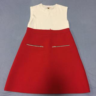 ザラ(ZARA)のZARA ミニスカート 赤 XS(ミニスカート)